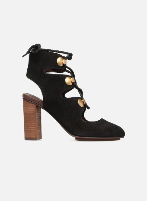 Sandales et nu-pieds See by Chloé Edna 10 Noir vue derrière