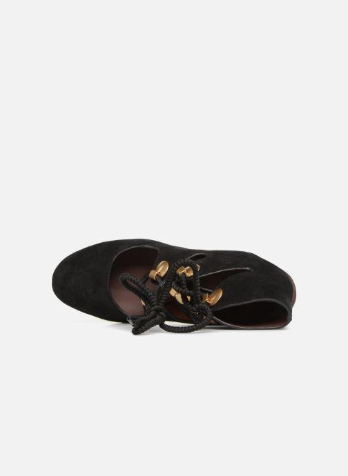 Sandales et nu-pieds See by Chloé Edna 10 Noir vue gauche
