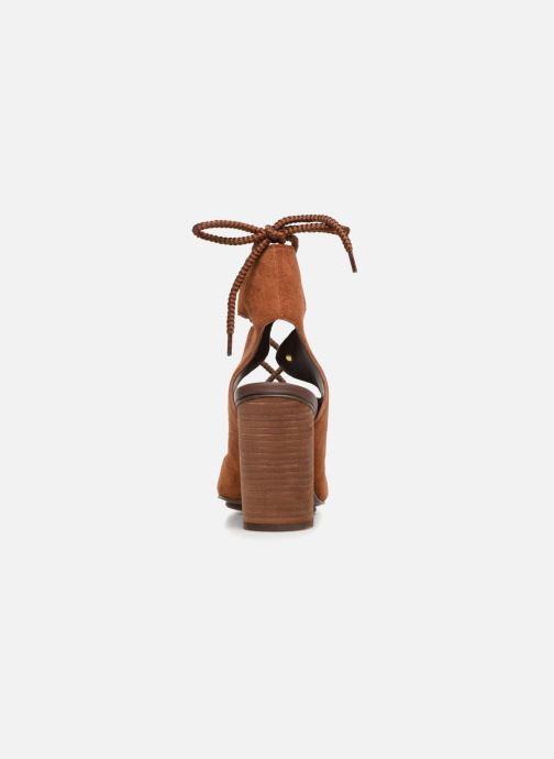 Sandales et nu-pieds See by Chloé Edna 10 Marron vue droite