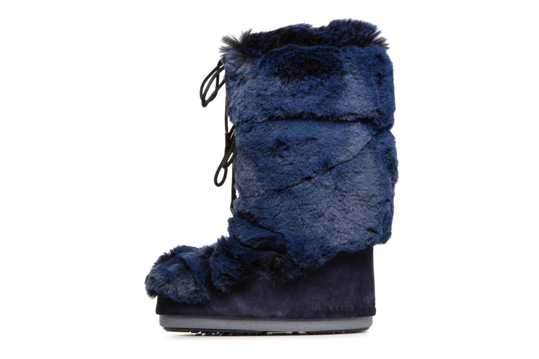 Chaussures de sport Moon Boot Moon Boot Classic Premium Soft F.Fu Bleu vue face