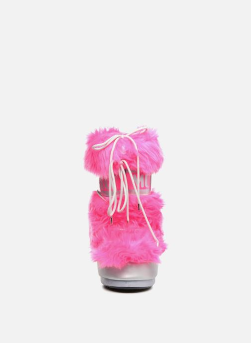 Sport shoes Moon Boot Moon Boot Classic Premium Pop F.Fur Pink model view