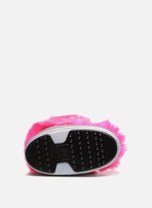 Chaussures de sport Moon Boot Moon Boot Classic Premium Pop F.Fur Rose vue haut