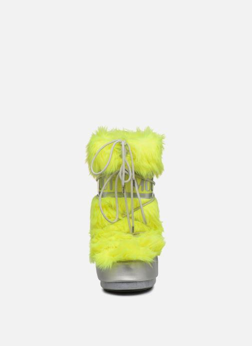 Sport shoes Moon Boot Moon Boot Classic Premium Pop F.Fur Yellow model view