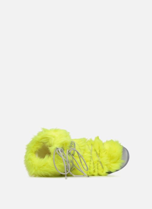 Sport shoes Moon Boot Moon Boot Classic Premium Pop F.Fur Yellow view from the left