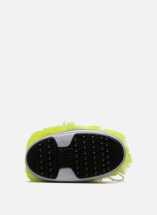 Chaussures de sport Moon Boot Moon Boot Classic Premium Pop F.Fur Jaune vue haut