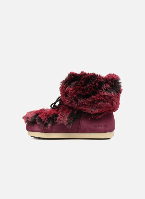 Ankle boots Moon Boot Moon Boot Fside Mid Prem.Soft Burgundy front view