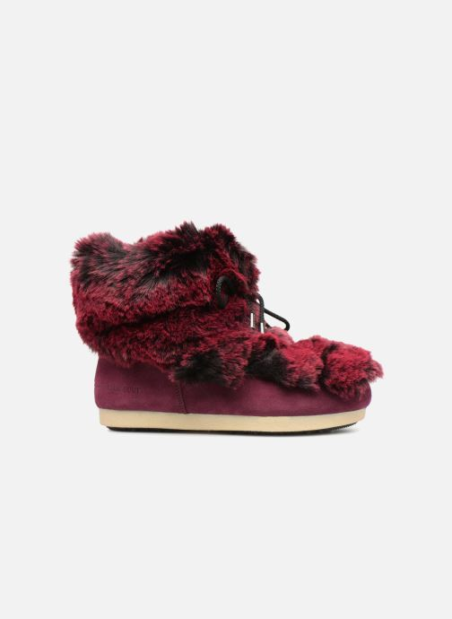 Ankle boots Moon Boot Moon Boot Fside Mid Prem.Soft Burgundy back view