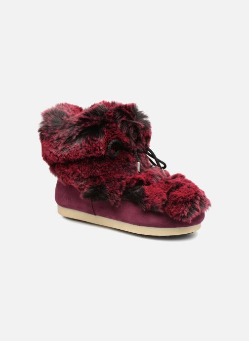 Ankle boots Moon Boot Moon Boot Fside Mid Prem.Soft Burgundy detailed view/ Pair view