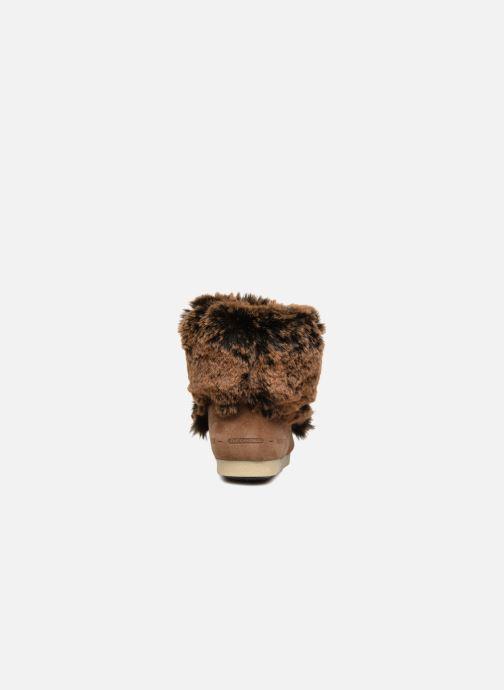 Boots en enkellaarsjes Moon Boot Moon Boot Fside Mid Prem.Soft Bruin rechts