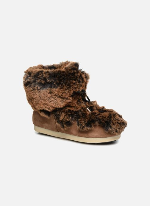 Bottines et boots Moon Boot Moon Boot Fside Mid Prem.Soft Marron vue détail/paire
