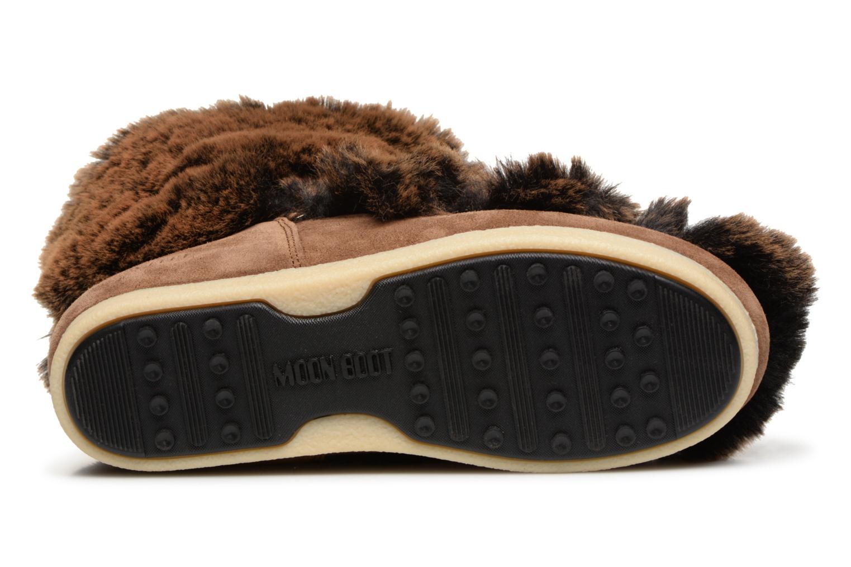 Bottines et boots Moon Boot Moon Boot Fside Mid Prem.Soft Marron vue haut