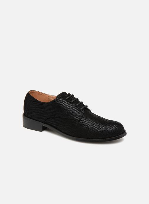 Chaussures à lacets Monoprix Femme Derby Noir vue détail/paire