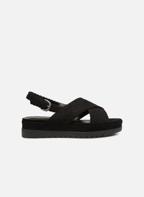 Sandales et nu-pieds Monoprix Femme Sandales à plateforme Noir vue derrière