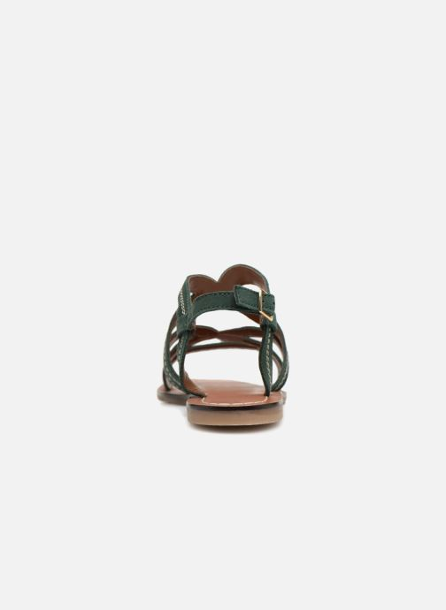Sandals Monoprix Femme Sandales Green view from the right