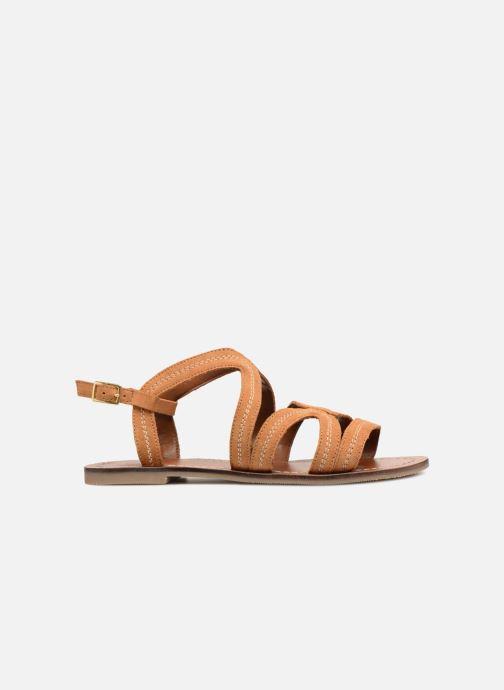 Sandales et nu-pieds Monoprix Femme Sandales Marron vue derrière