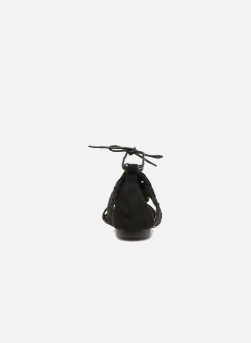 Sandalen Monoprix Femme Sandales texturées crochet schwarz ansicht von rechts
