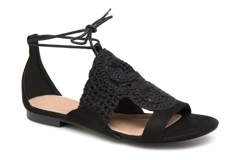 Sandales texturées crochet