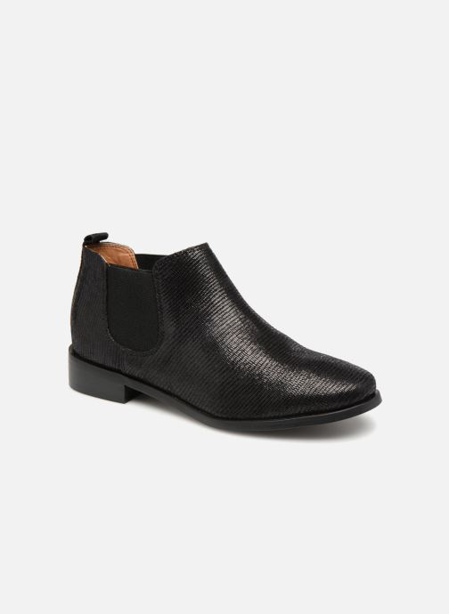 Ankle boots Monoprix Femme Boots Black detailed view/ Pair view