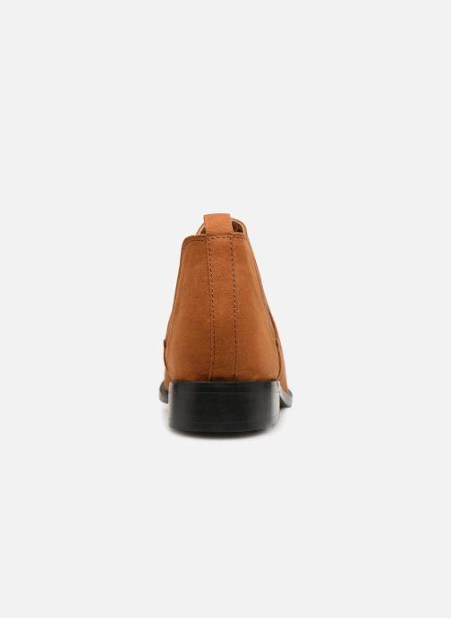 Bottines et boots Monoprix Femme Boots en suedées Marron vue droite
