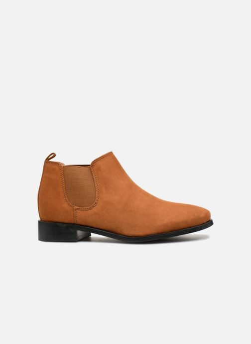 Boots en enkellaarsjes Monoprix Femme Boots en suedées Bruin achterkant