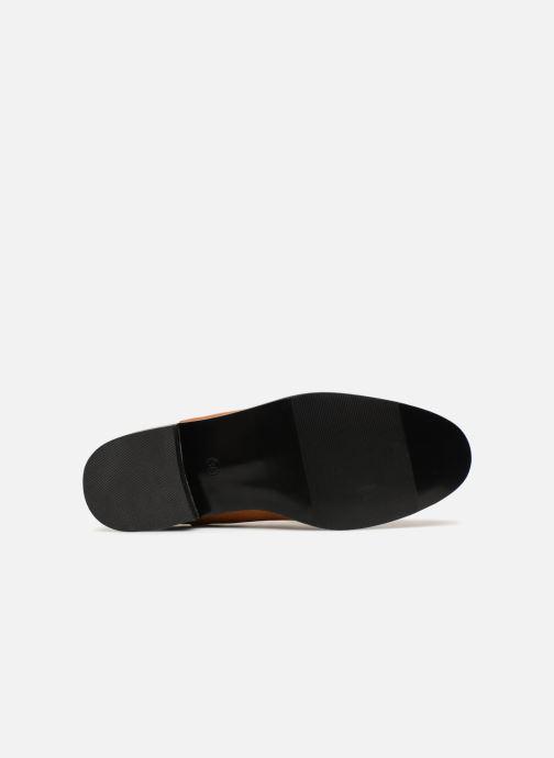 Bottines et boots Monoprix Femme Boots en suedées Marron vue haut