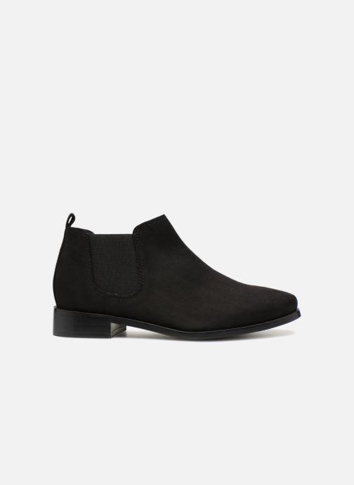 Bottines et boots Monoprix Femme Boots en suedées Noir vue derrière