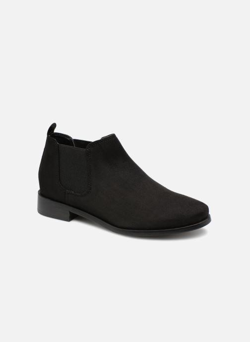Bottines et boots Monoprix Femme Boots en suedées Noir vue détail/paire