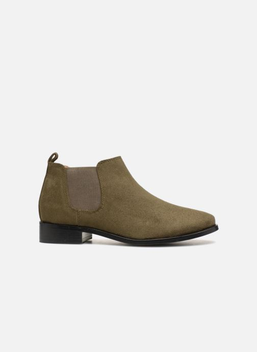 Stivaletti e tronchetti Monoprix Femme Boots en suedées Verde immagine posteriore