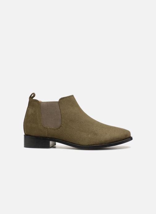 Bottines et boots Monoprix Femme Boots en suedées Vert vue derrière