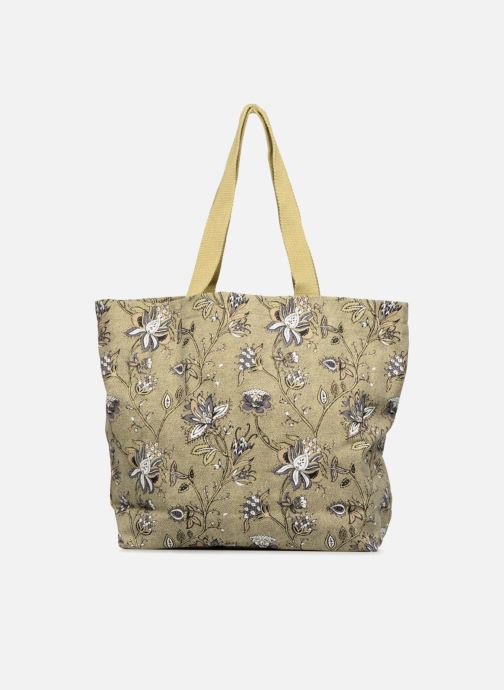 Bolsos de mano Monoprix Femme Tote-bag imprimé fleurs Amarillo vista de frente