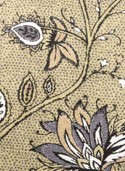 Bolsos de mano Monoprix Femme Tote-bag imprimé fleurs Amarillo vista lateral izquierda