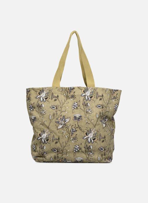 Sacs à main Monoprix Femme Tote-bag imprimé fleurs Jaune vue détail/paire