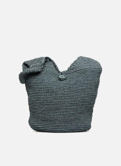 Sacs à main Monoprix Femme Sac rond en paille Bleu vue détail/paire