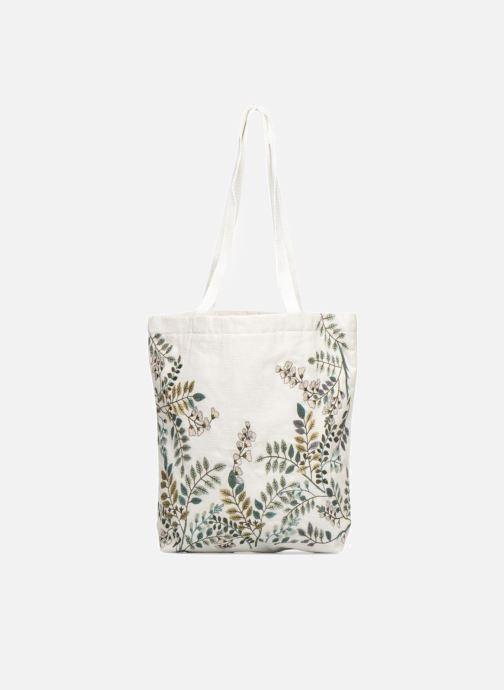 Sacs à main Monoprix Femme Tote-bag brodé fleurs Blanc vue détail/paire