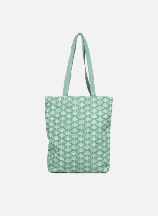 Bolsos de mano Monoprix Femme Tote-bag imprimé Verde vista de frente