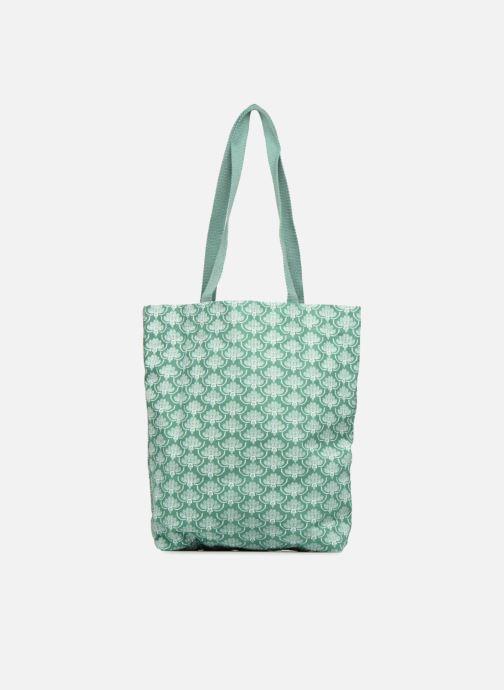 Bolsos de mano Monoprix Femme Tote-bag imprimé Verde vista de detalle / par