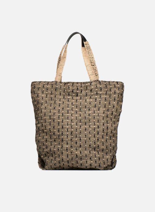 Handtassen Monoprix Femme Cabas en jute Geel voorkant