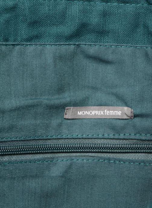 Handtassen Monoprix Femme Tote-bag fleurs Beige achterkant
