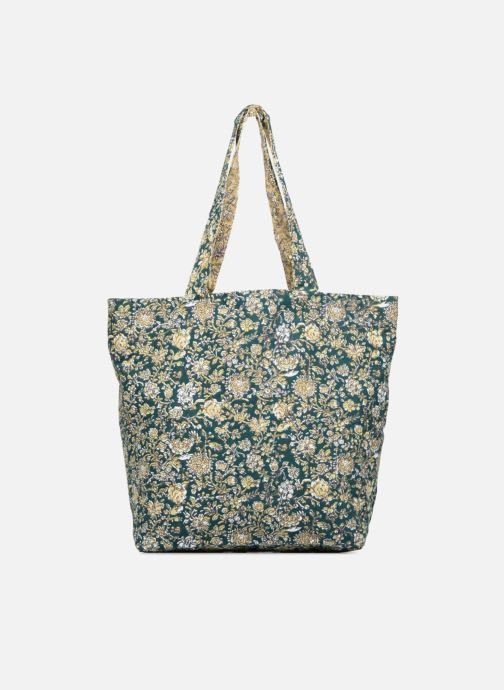 Handtassen Monoprix Femme Tote-bag fleurs Beige detail