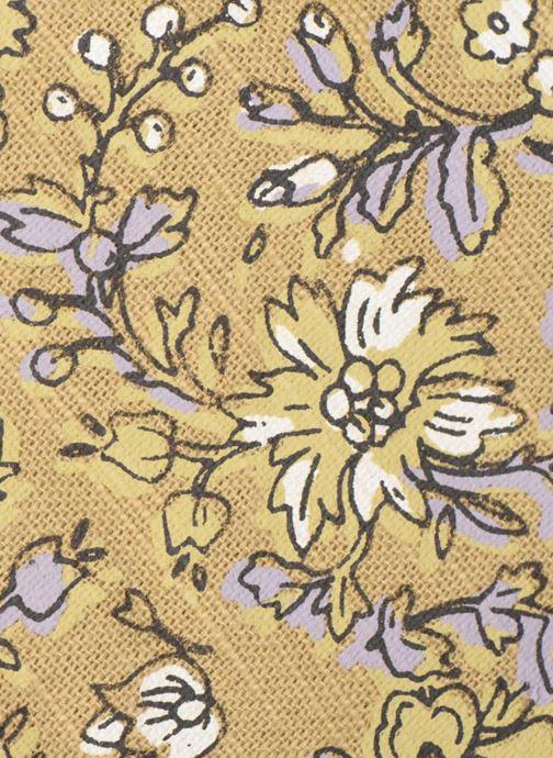 Sacs à main Monoprix Femme Tote-bag fleurs Jaune vue gauche