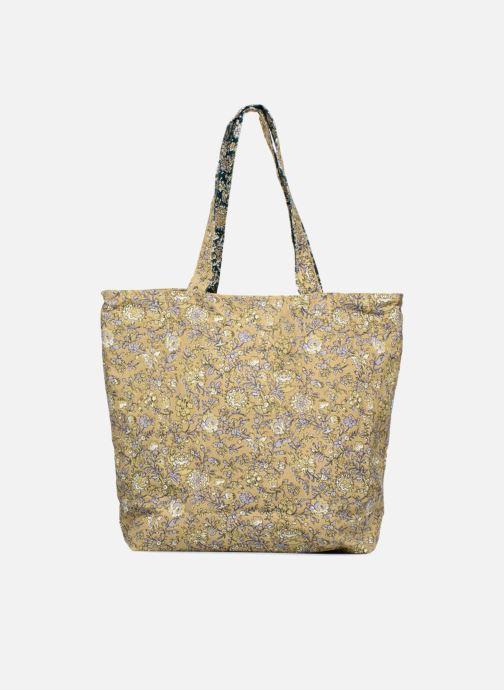 Sacs à main Monoprix Femme Tote-bag fleurs Jaune vue détail/paire