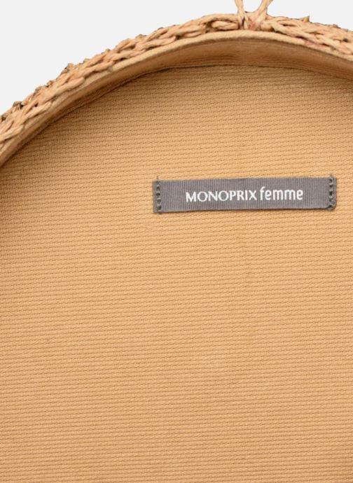 Rond En 345545 Sacs jaune À Main Jute Chez Femme Sac Monoprix FEWnwqSZZ