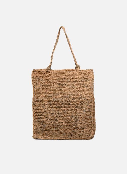 Handtassen Monoprix Femme Cabas jute Geel voorkant