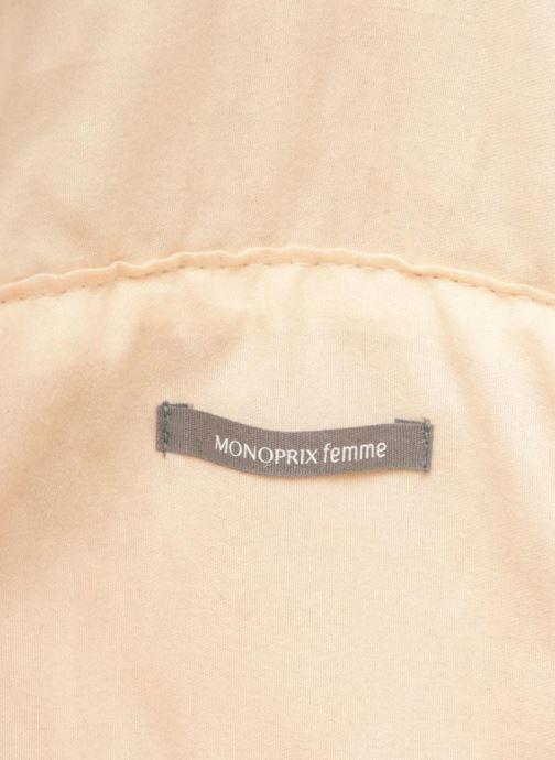 Sacs à main Monoprix Femme Sac porté épaule pompon Jaune vue derrière