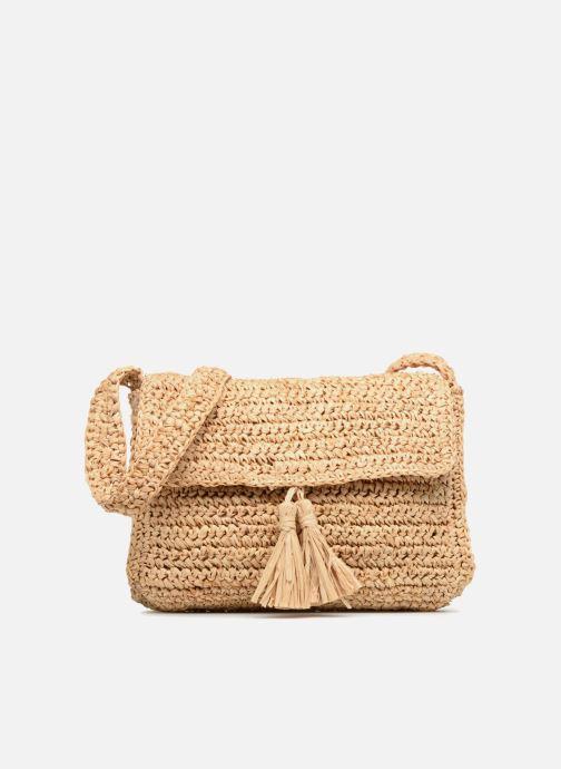 Bolsos de mano Monoprix Femme Sac porté épaule pompon Amarillo vista de detalle / par