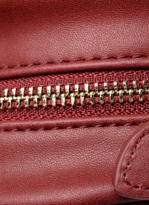 Bolsos de mano Monoprix Femme Sac rond rayé Rojo vista lateral izquierda