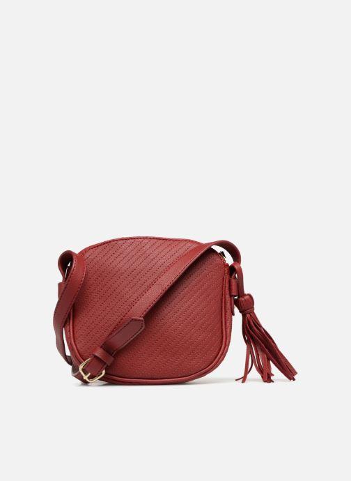 Handtassen Monoprix Femme Sac rond Rood voorkant
