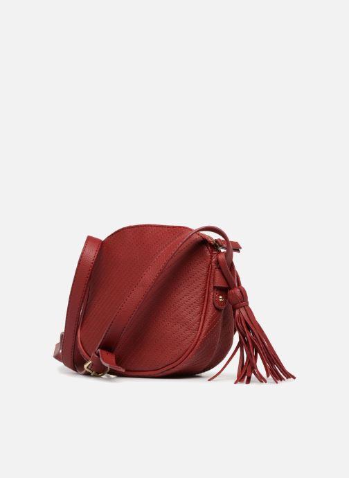Bolsos de mano Monoprix Femme Sac rond Rojo vista lateral derecha