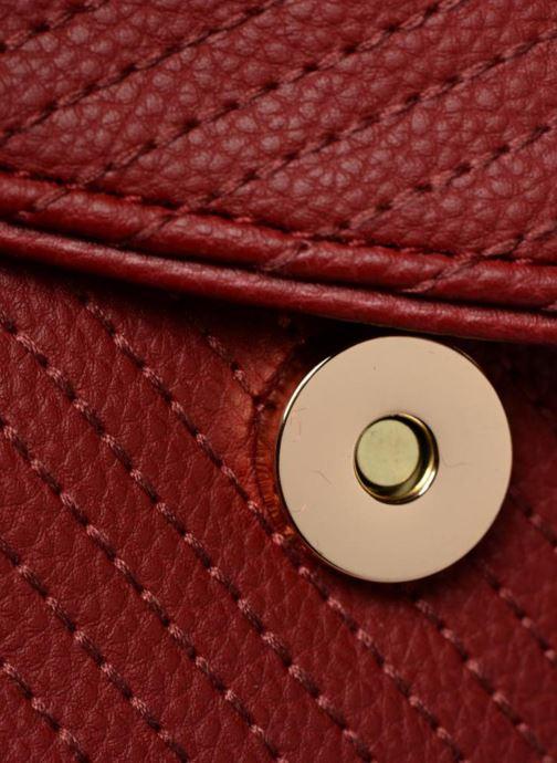 Bolsos de mano Monoprix Femme Sac rond Rojo vista lateral izquierda