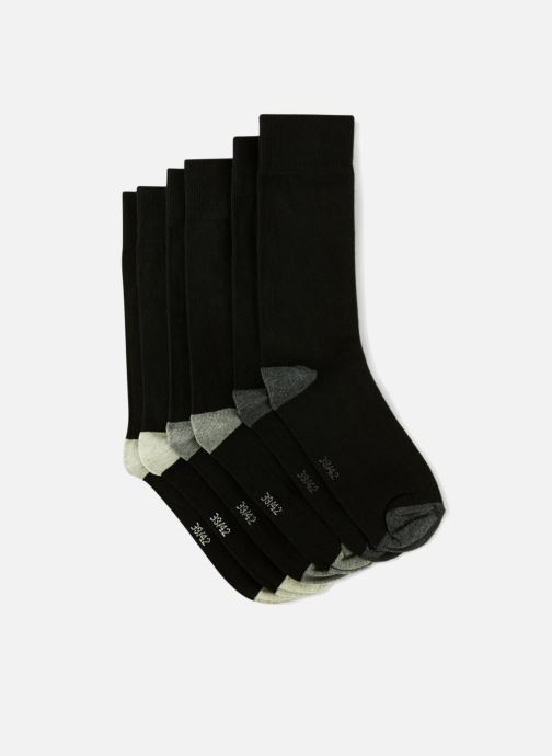 Sokken en panty's Monoprix Homme Lot de 3 chaussettes homme Zwart model